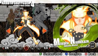 Naruto Shippuden : Ultimate Ninja Impact  MOD Texture [Rikudo Mode] For PPSSPP Terbaru