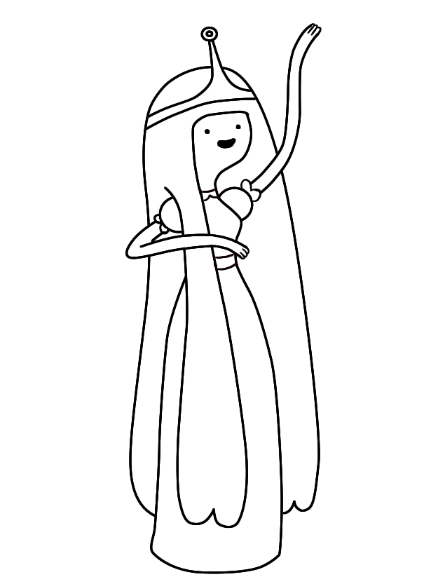 princess bubblegum coloring pages - photo#14