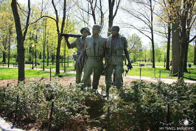 My Travel Background : 12 lieux à visiter à Washington D.C. - Mémorial de la guerre du Vietnam