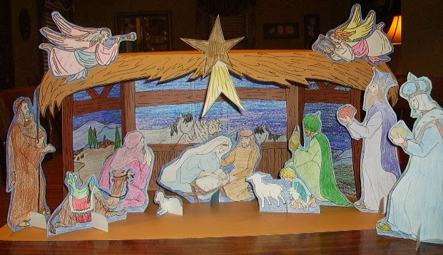 Christmas Countdown 29 Days 6 Creative Nativity Ideas