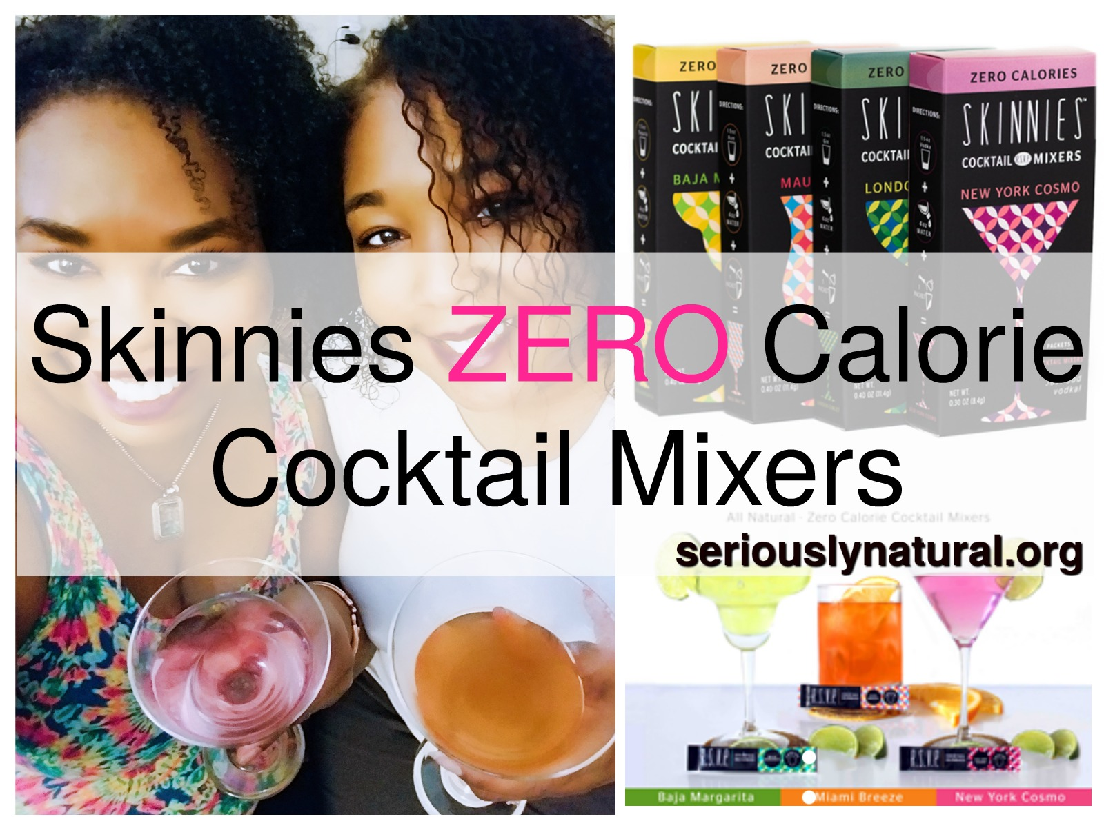 Click here to buy RSVP Skinnies zero calorie Cocktail Mixers for the perfect Mother's Day gift!