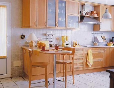 Hogares frescos dise os de cocinas estilo office - Cocinas office pequenas ...
