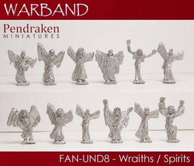 FAN-UND8 - 12 x Wraiths/Spirits