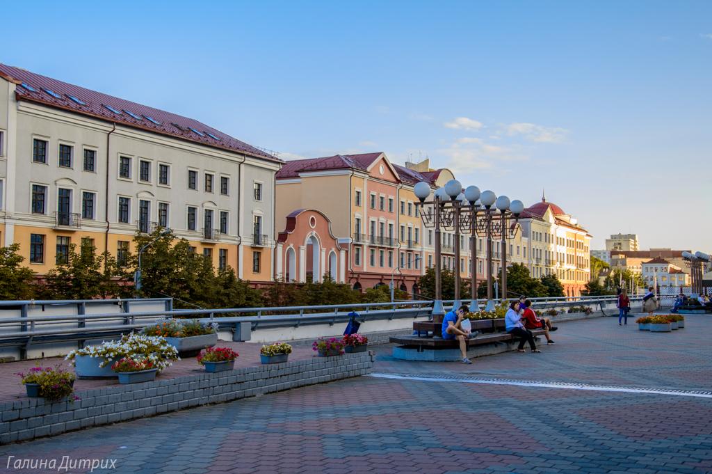 улица Немига Минск фото