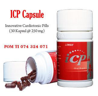beli obat herbal jantung koroner Tasly ICP Capsule di Bogor