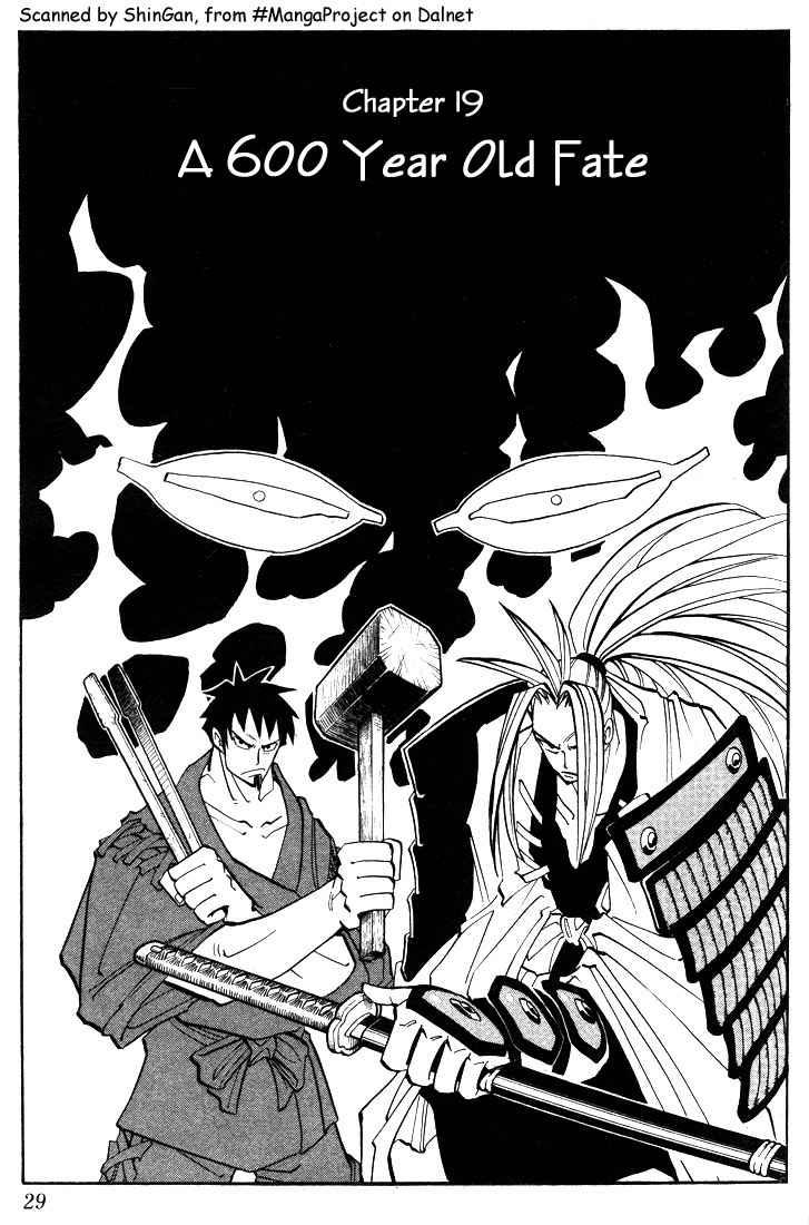 Shaman King [Vua pháp thuật] chap 19 trang 3