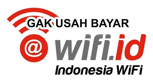 Cara Gratis Wifi.id