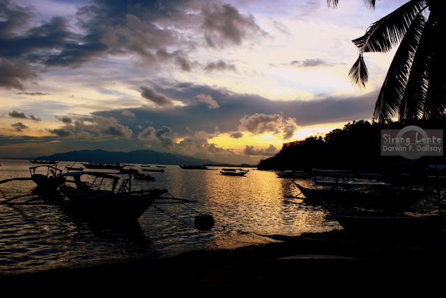 Golden Sunrise in Puerto Galera