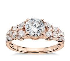 Gold Rose Wedding Rings