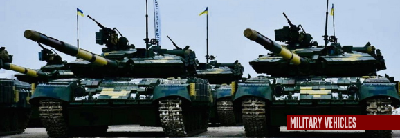 The Armed Forces of Ukraine received over 200 units of equipment and weapons