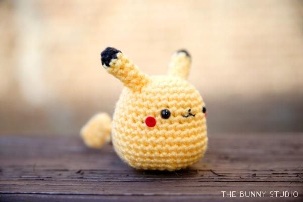 Amigurumi Patterns Pikachu : The bunny studio: free crochet pattern: pikachu amigurumi