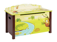Animal Toy Chest for De-cluttering toy room