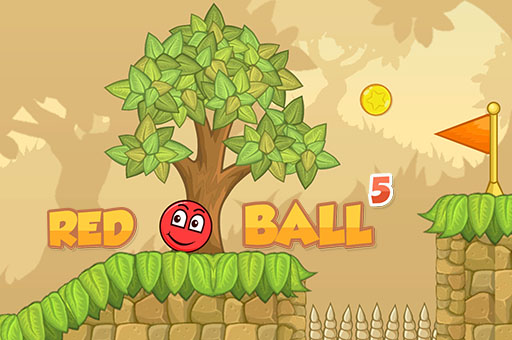 Zıplayan Top 5 - Red Bounce Ball 5