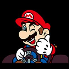 Mario Kart Stickers