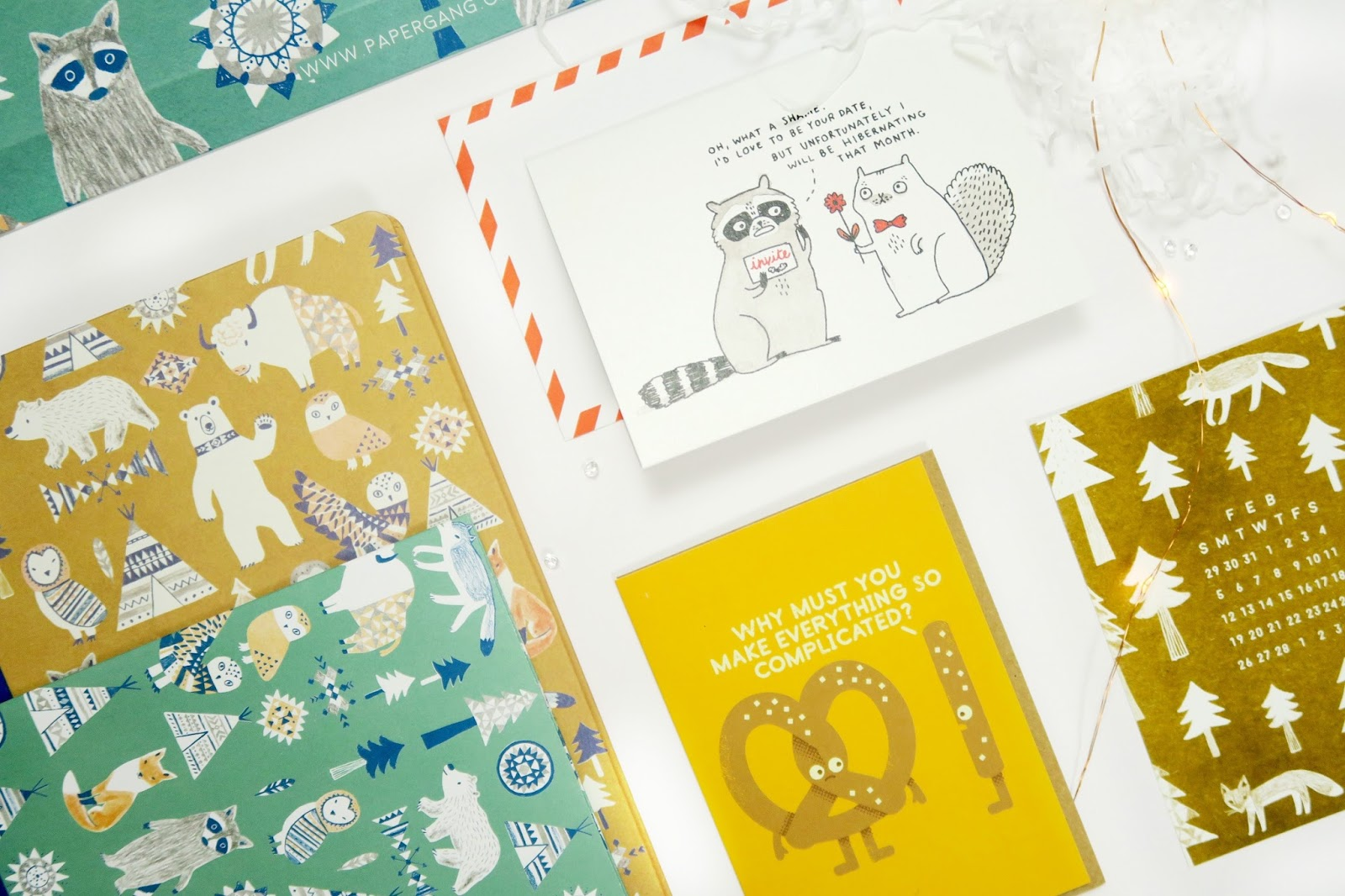 an image of the ohh deer papergang box