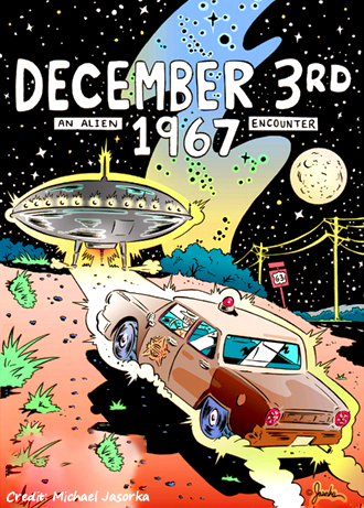 A Policeman's UFO Encounter, a Graphic Novel and Beer