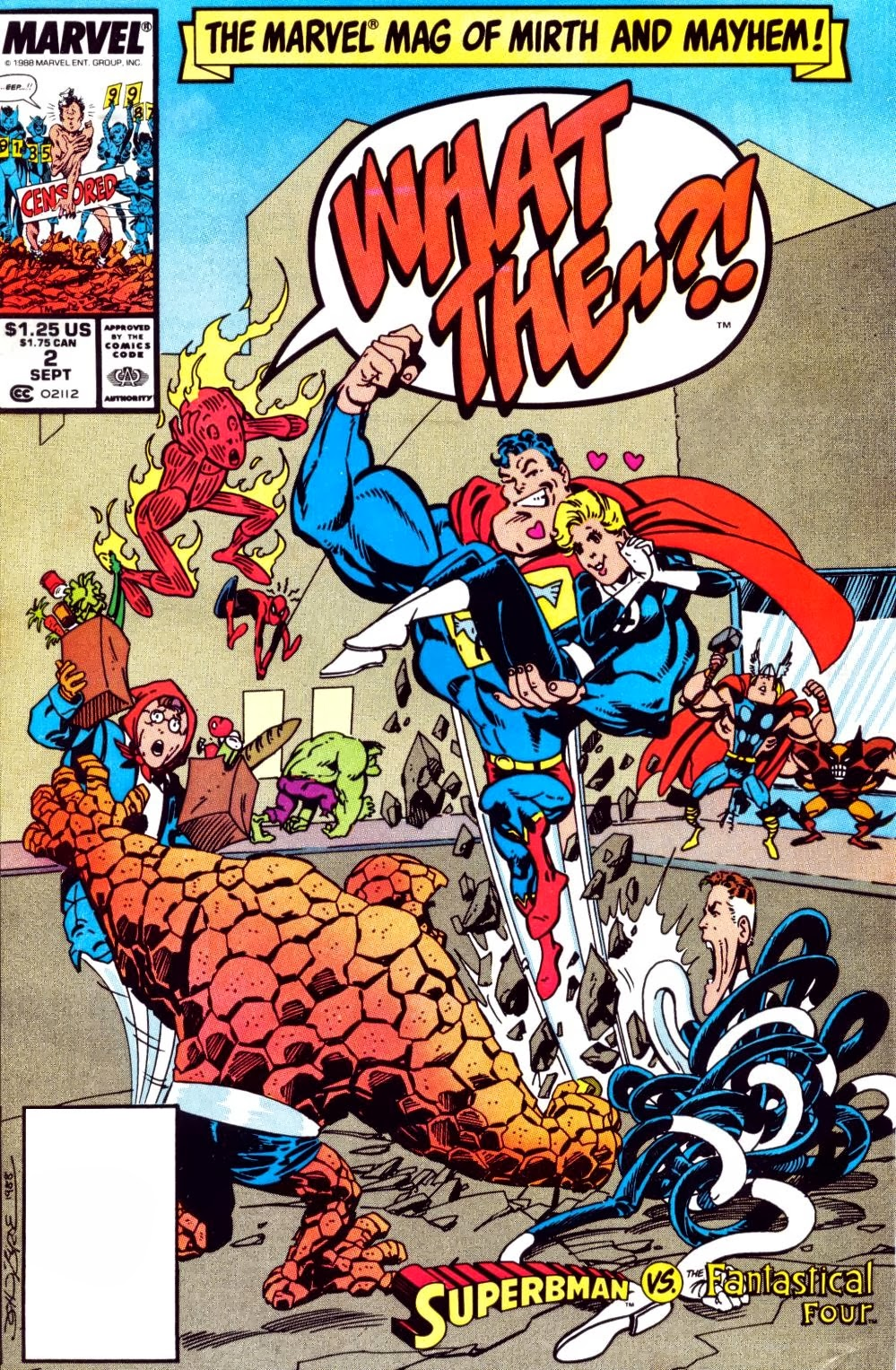 What The Water Gave Me 1938: Marvel Comics Of The 1980s: 1988