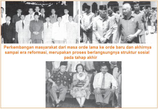 Tahap Akhir Proses Pembentukan Struktur Sosial