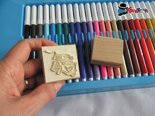 Timbro Cricchetto - Multiprint colori e timbri