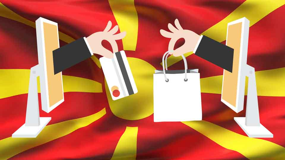 Less than 20 Percent shop online in Macedonia