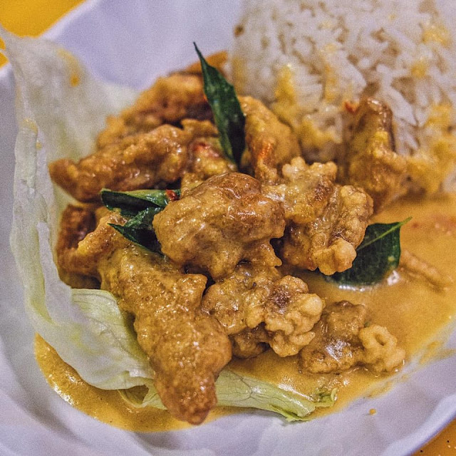 Salted Egg Chicken Sixth Avenue