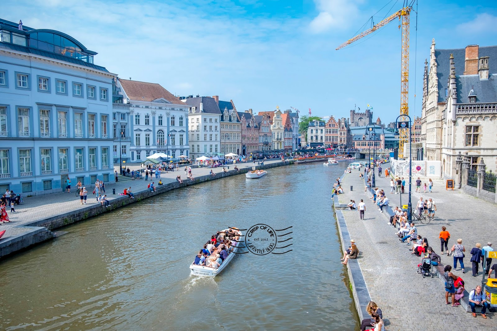 Day Trip to Ghent Belgium