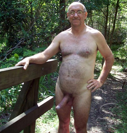 naked hairy older grandpa picture
