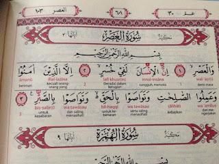 Jual Al-Qur'an Per Juz Pelangi