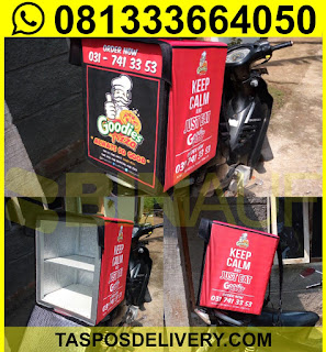 Produsen Tas delivery pizza goodies Jakarta bandung bogor tangerang bekasi jogja solo semarang malang surabaya bali banjarmasin batam