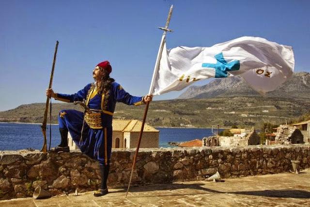 17 Μαρτίου 1821: Οι Μανιάτες κηρύσσουν τον πόλεμο στους Τούρκους