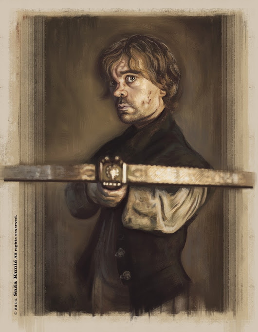 Tyrion Lannister (Game of Thrones) - speed painting