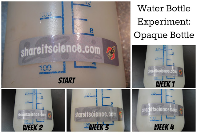water bottle science experiment