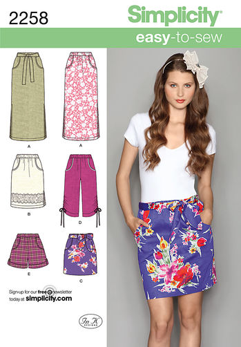 http://www.simplicity.com/misses-easy-to-sew-skirts-shorts/2258.html#q=2258&start=1