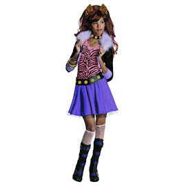 Monster High Rubie's Clawdeen Wolf Outfit Child Costume