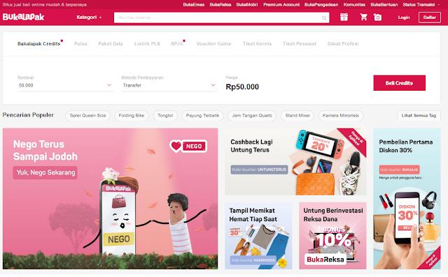 Bukalapak - Situs Jual Beli Online Mudah & Terpercaya Indonesia