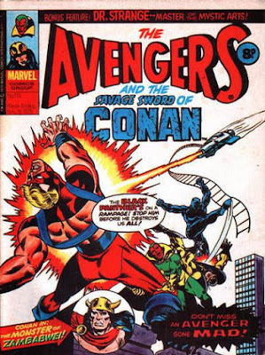 Marvel UK, The Avengers #113
