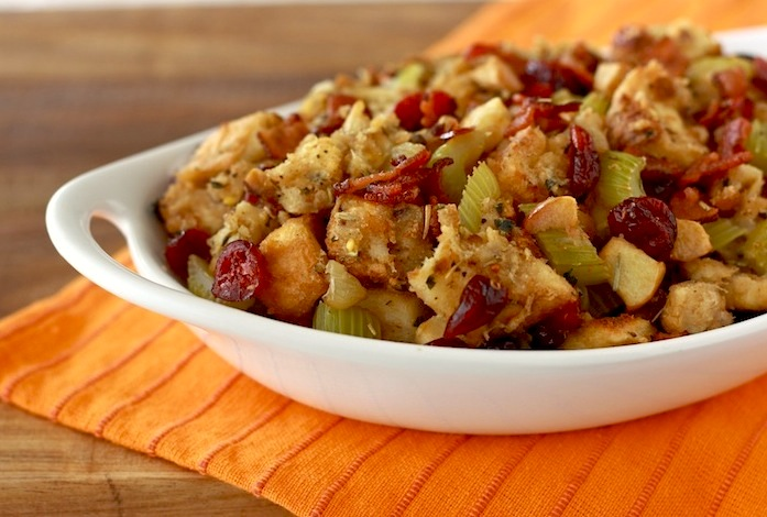 Homemade Cranberry Stuffing recipe by SeasonWithSpice.com