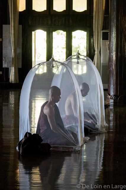 Monastère Pa Auk - Mawlamyine - Myanmar Birmanie