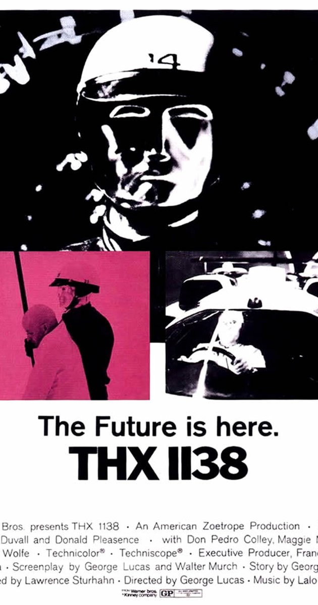 thx1138 references in star wars and indianna jones