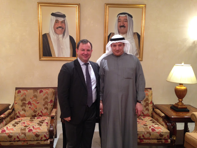 Με βουλευτές του Κουβέιτ, ως Αντιπρόεδρος της Ομάδας Φιλίας των δύο χωρών, συναντήθηκε ο Β. Γιόγιακας