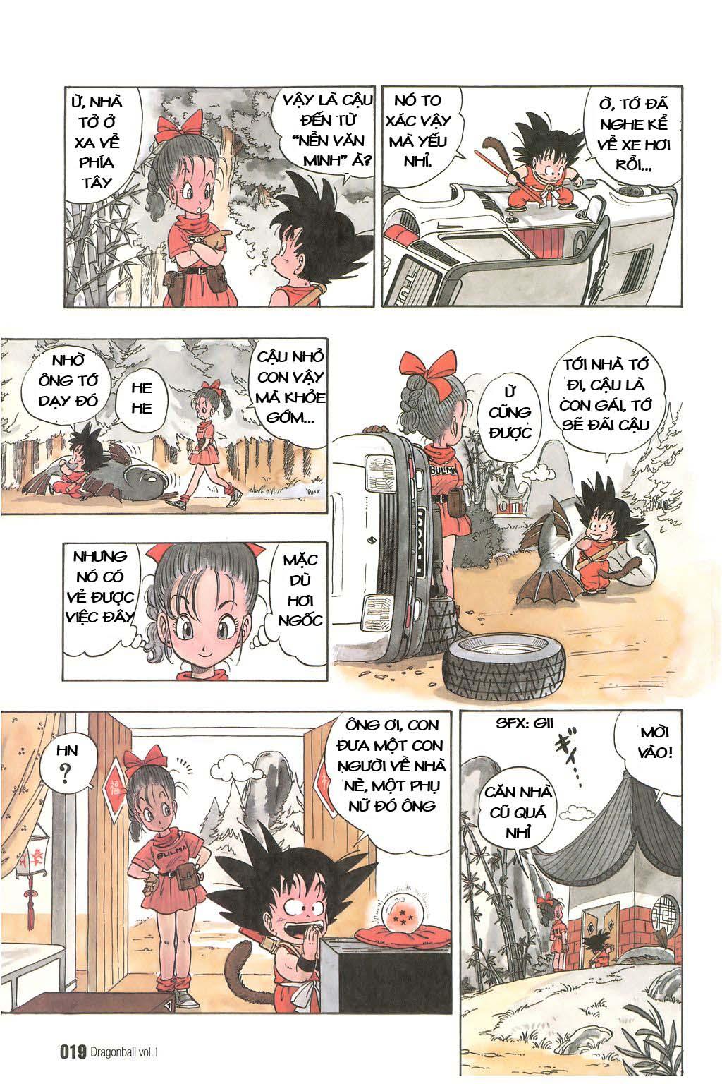 Dragon Ball chap 1 trang 22