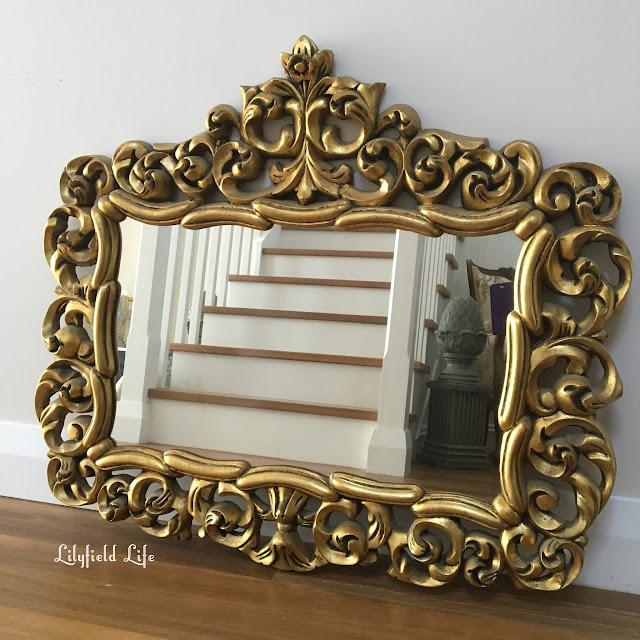 vintage gold mirror Lilyfield Life