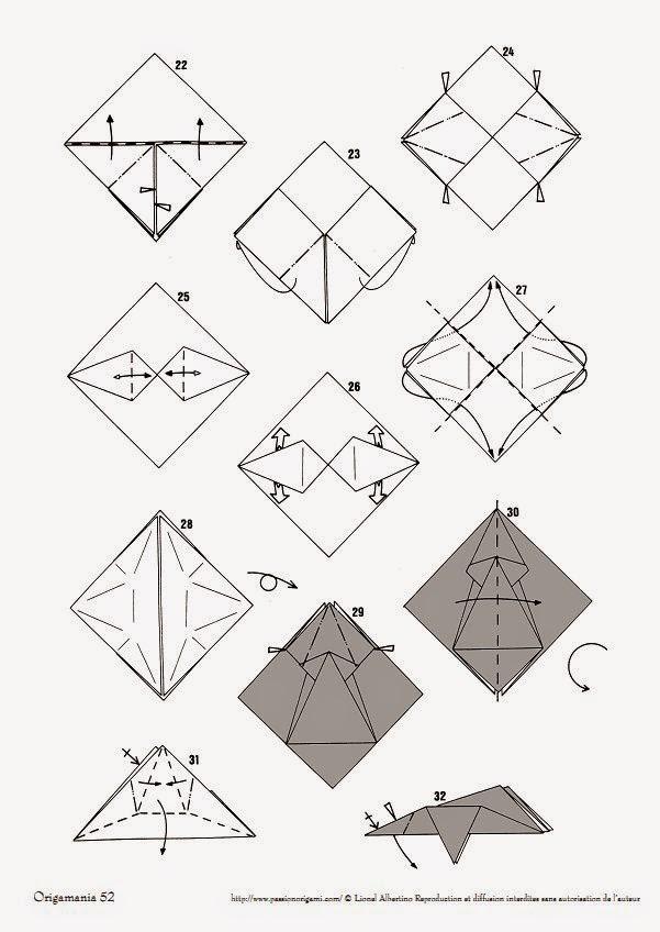 origami elephant instructions ~ easy origami instructions
