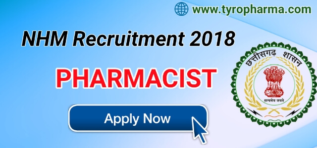 chhattisgarh-nhm-recruitment-2018-for-Pharmacist