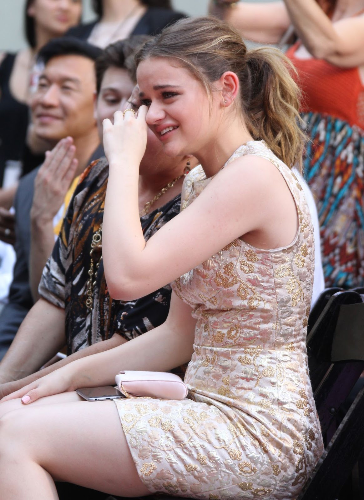 'Going in Style' actress Joey King at Roland Emmerich Hand and Footprint Ceremony in Los Angeles