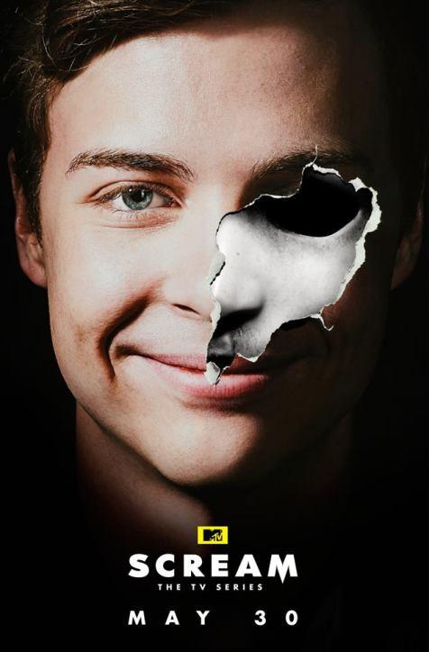 Quem será o novo Ghostface na 2ª temporada de SCREAM? Veja os novos pôsteres