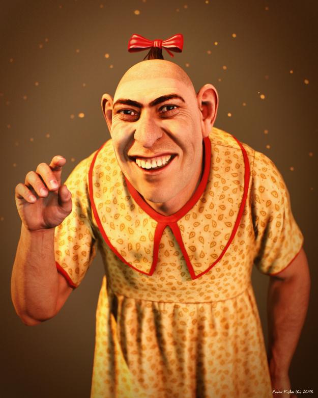Circus freak pinhead The True