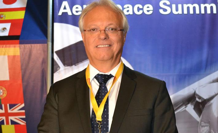 Juan Carlos Corral Martín, presidente del Aeroclúster de Querétaro y Ceo de ITP Aéreo. (Foto: Vanguardia Industrial)