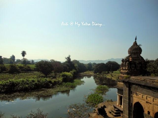 The beautiful views from the Sangameshwar Shiva Temple, Saswad, Pune