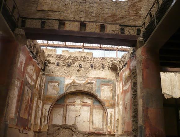 Sala degli Augustei Ercolano
